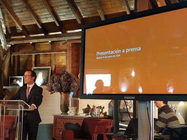 El consejero delegado de Singular Bank, Javier Marín.