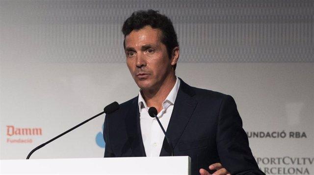 Guillermo Amor, director de Relaciones Institucionales del FC Barcelona.