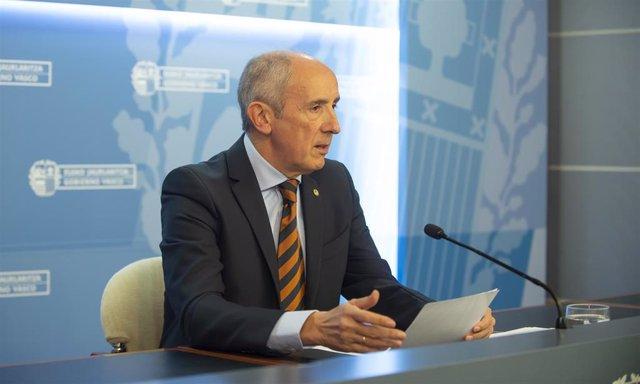 """El Gobierno Vasco otorga un """"voto de confianza"""" a Delgado frente a los fiscales que actuaron con """"sectarismo radical""""."""
