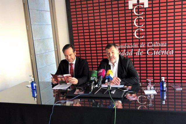 Presentación de la programación del auditorio de Cuenca, que trae obras de Emilio Gutiérrez Caba y Carlos Hipólito