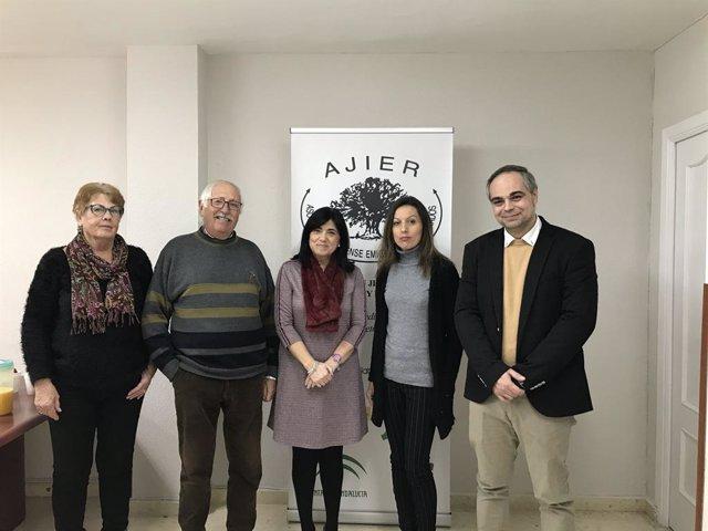 Inauguración de la nueva oficina de Ajier