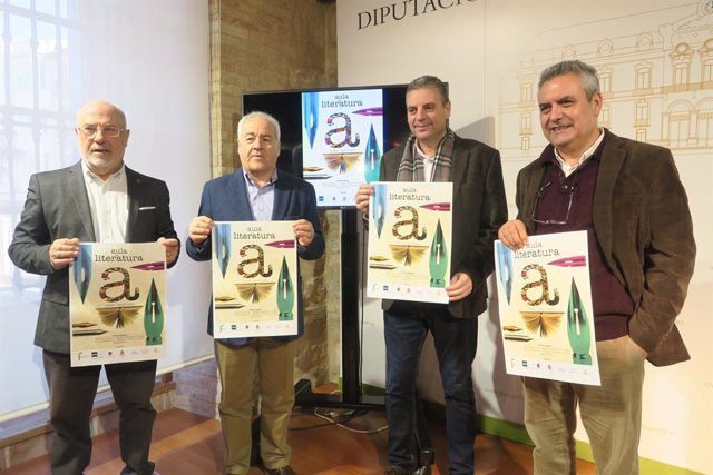 Presentación de la tercera edición del Aula de Literatura de la UNED en Jaén