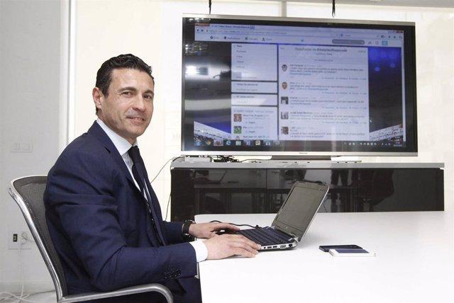 Amadeo Salvo, en su etapa presidente del Valencia