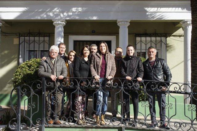 Vicita de la secretaria general del PP-A, Loles López, a La Puerta de Segura