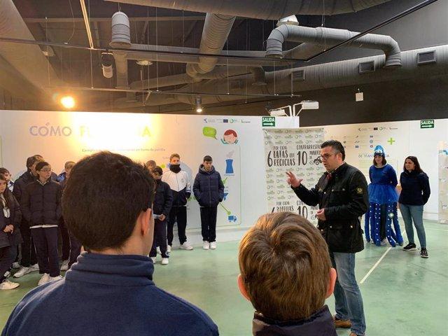 Escolares de la provincia de Málaga participan en talleres para fomentar el reciclaje de envases, papel y vidrio