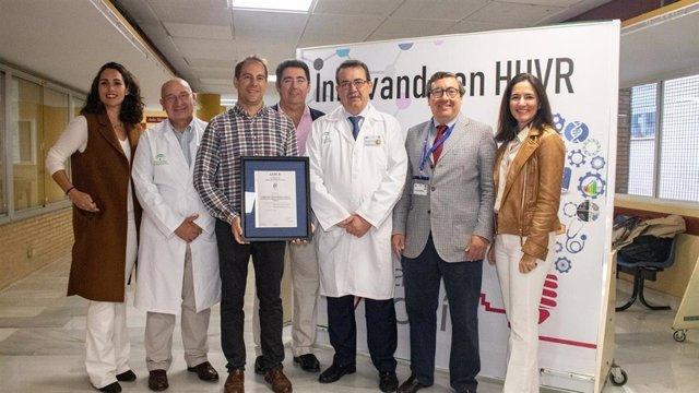 [L Mmcc.Huvmr.Sspa] El Hospital Virgen Del Rocío Y El Instituto De Biomedicina De Sevilla Revalidan El Certificado Aenor Que Acredita Su Gestión En I+D+I