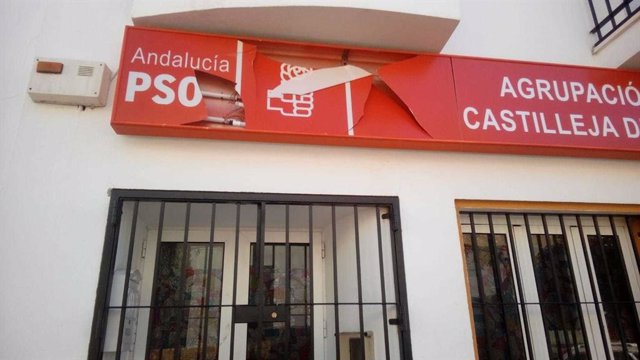 Sede de PSOE de Castilleja de la Cuesta.