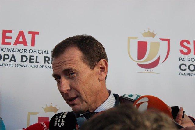 """Fútbol/Copa.- Emilio Butragueño: """"Sabemos de la peligrosidad de estos partidos"""""""