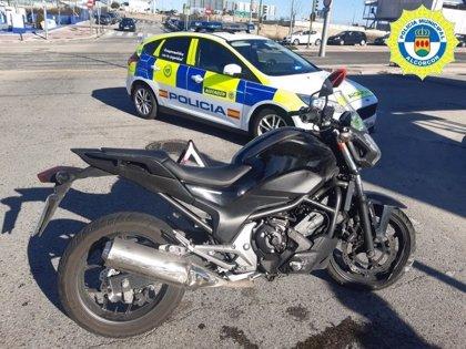 Detenida en Alcorcón una mujer después de chocar contra tres vehículos y dar positivo en cocaína