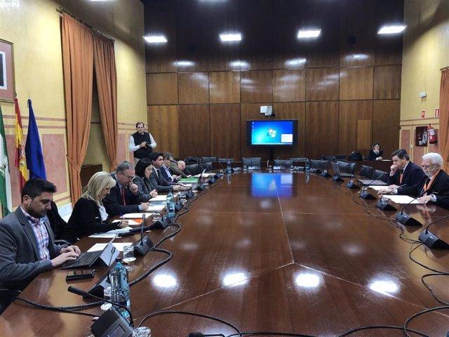 Comparecencia de Asaja Andalucía en el Parlamento andaluz.