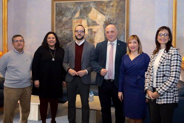 CórdobaÚnica.- Diputación de Córdoba traslada a técnicos de la Diputación de Alb