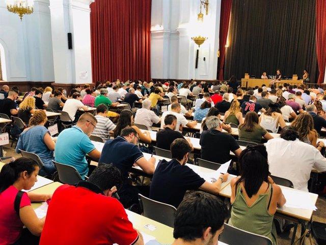 Estudiantes de la UNED Valencia en una imagen de archivo.