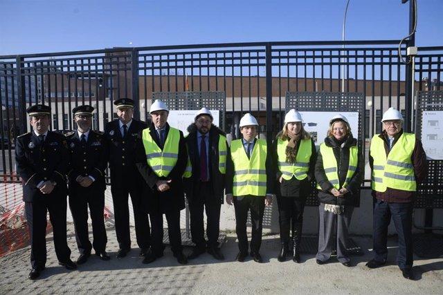 Las obras de la nueva sede de la Policía Municipal de Hortaleza concluirán antes de final de año.
