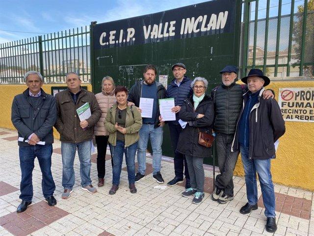 Adelante Málaga critica la construcción de un aparcamiento bajo el colegio Valle Inclán de la capital