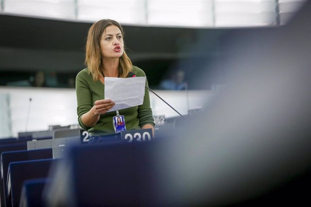 La eurodiputada de Izquierda Unida por Unidas Podemos Sira Rego