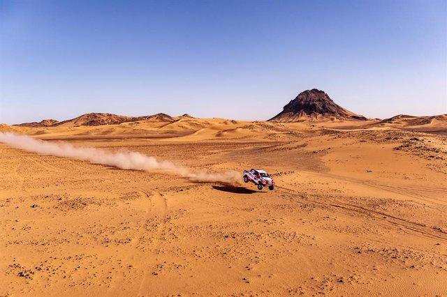 """Rally/Dakar.- Fernando Alonso: """"La etapa maratón será un desafío grande y otra n"""