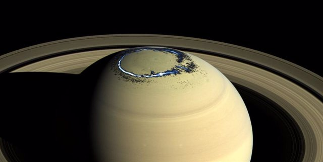 Las auroras de Saturno, imágenes finales de la misión Cassini