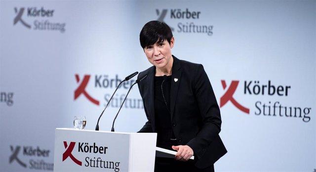 La ministra de Exteriores de Noruega, Ine Eriksen Soreide