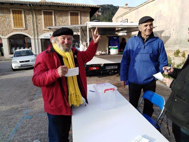 Una consulta simbólica sobre Monarquía o República celebrada en Valldemossa