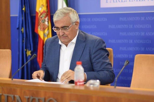 El portavoz de Hacienda del Grupo Parlamentario Socialista, Antonio Ramírez de Arellano, en una foto de archivo
