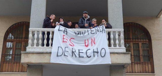 Encierro en el Ayuntamiento de San Juan