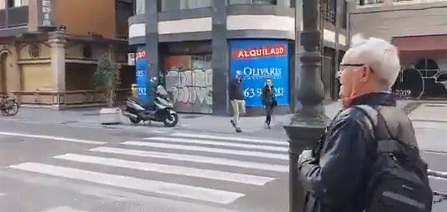 El alcalde Joan Ribó es abroncado en un vídeo