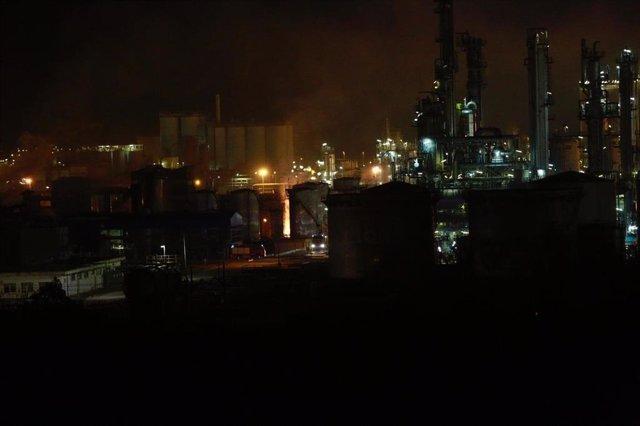Explosión en una empresa química de La Canonja (Tarragona)