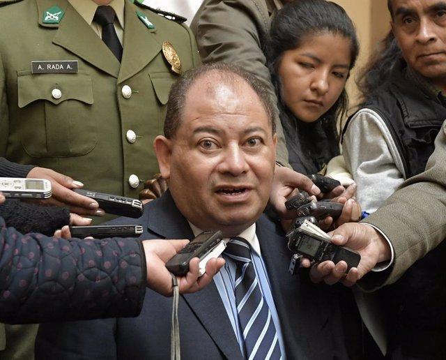 Carlos Romero, exministro de Morales.