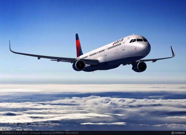 Avión A321 de Delta