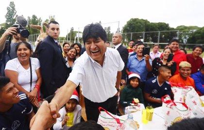 Bolivia.- Bolivia pide a Argentina que repudie el llamamiento de Morales a formar milicias en el país