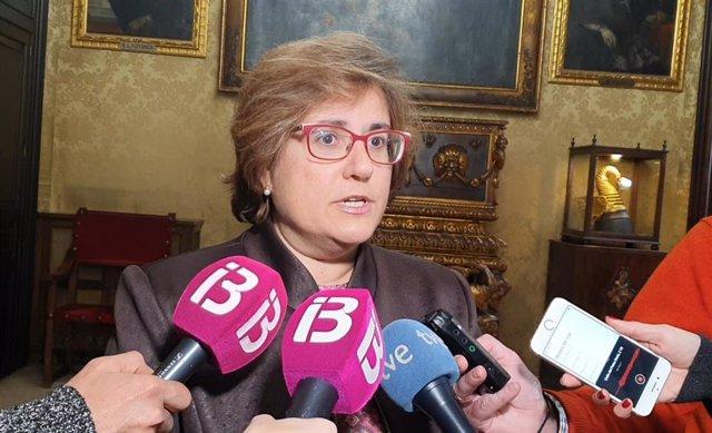 La portavoz del PP en Palma, Mercedes Celeste.