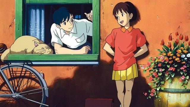 Susurros del corazón, película de Studio Ghibli