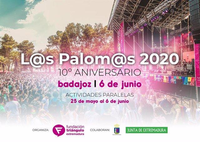 Cartel de L@s Palom@s 2020