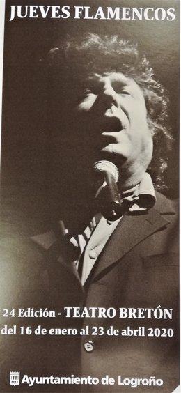 Los 24 Jueves Flamencos de Logroño rendirán homenaje a Enrique Morente.