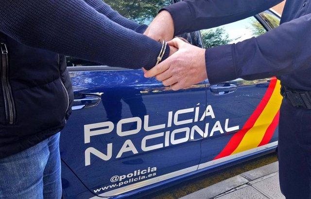 Detención Policía Nacional.