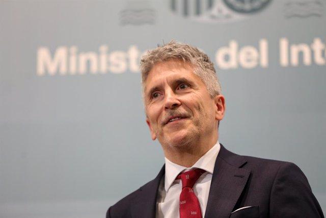 Fernando Grande-Marlaska, Madrid (Espanya), 13 de gener del 2020.