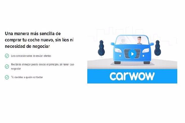 Recurso portal web de ventas de coches Carwow