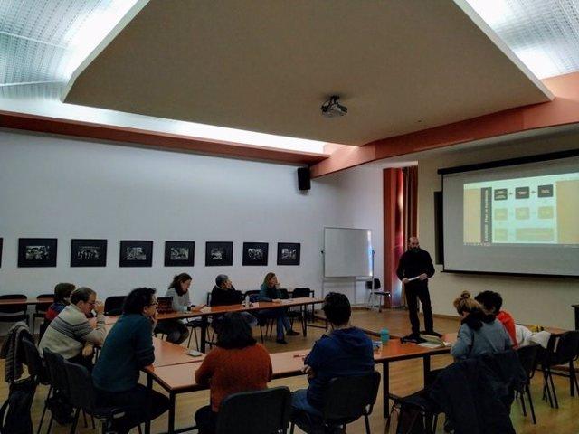 Imagen de archivo de un taller de formación impartido por la Coordinadora Andaluza de Organizaciones No Gubernamentales de Desarrollo.