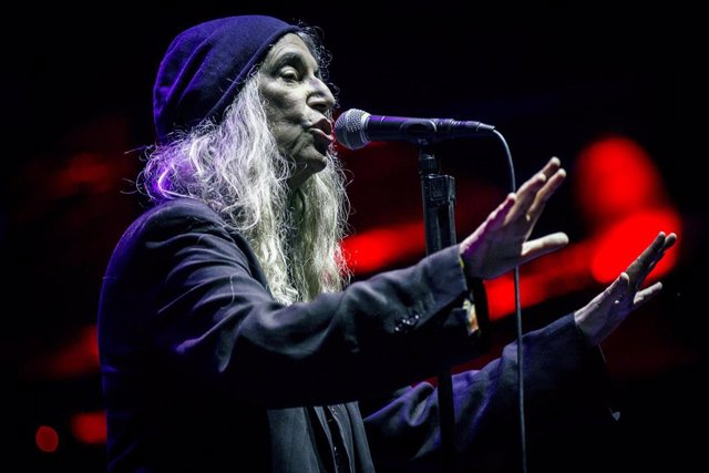 17 August 2019, Portugal, Paredes De Coura: US singer and songwriter Patti Smith performs at the music festival Vodafone Paredes de Coura. Photo: Diogo Baptista/SOPA Images via ZUMA Wire/dpa