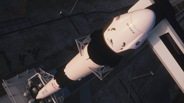 Se ultima la prueba final de la Crew Dragon antes de llevar astronautas