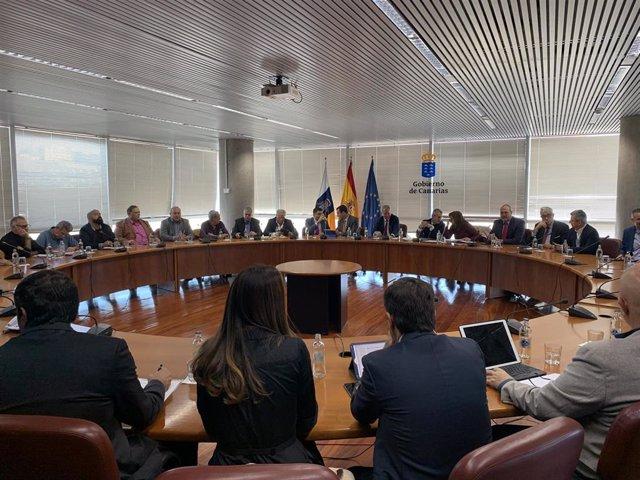 Mesa del Transporte Terrestre de Canarias