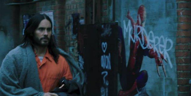 Jared Leto en el tráiler de Morbius