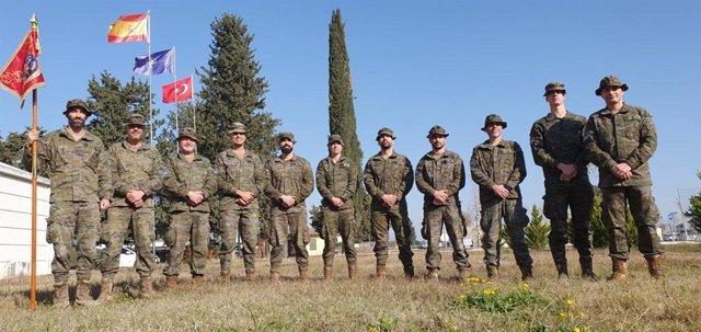 Militares españoles en misión de apoyo a Turquía AT X