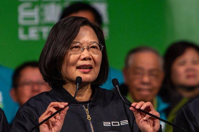 Taiwán.- Tsai promulga una ley contra la injerencia China en Taiwán