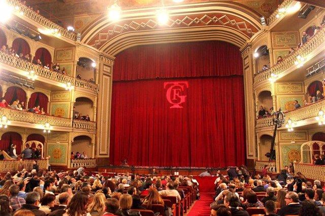Gran Teatro Falla durante el Concurso de Carnaval