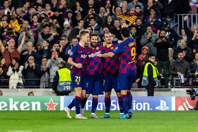 Fútbol.- Messi y De Jong, incluidos en el equipo ideal de UEFA.com votado por lo
