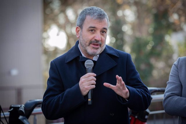 El primer teniente Alcalde de Barcelona, Jaume Collboni en la presentación de la ampliación territorial del Bicing en Barcelona, a 11 de enero de 2020