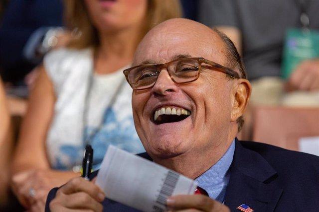 Rudy Giuliani, abogado personal del presidente de Estados Unidos, Donald Trump