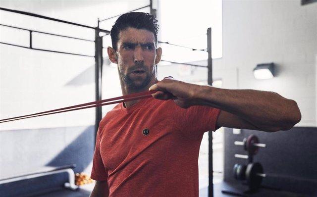 Michael Phelps, protagonista de la campaña 'The Only Way Is Through' de Under Armour