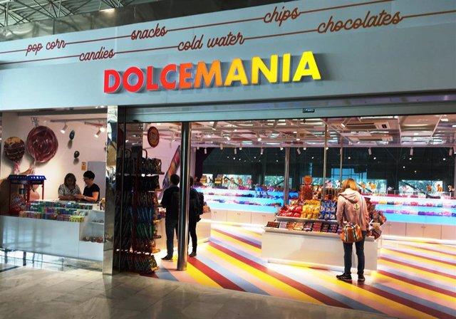 Nueva tienda de Dolcemania en el aeropuerto de Fuerteventura